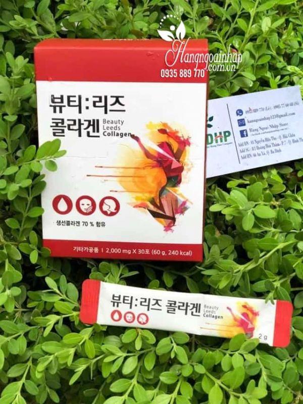 Collagen nhụy hoa nghệ tây Beauty Leeds Collagen Hàn Quốc 2