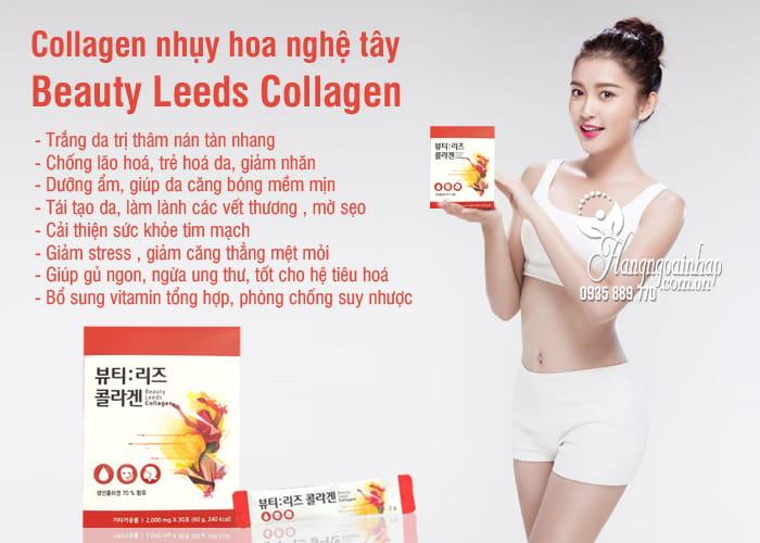 Collagen nhụy hoa nghệ tây Beauty Leeds Collagen Hàn Quốc 5