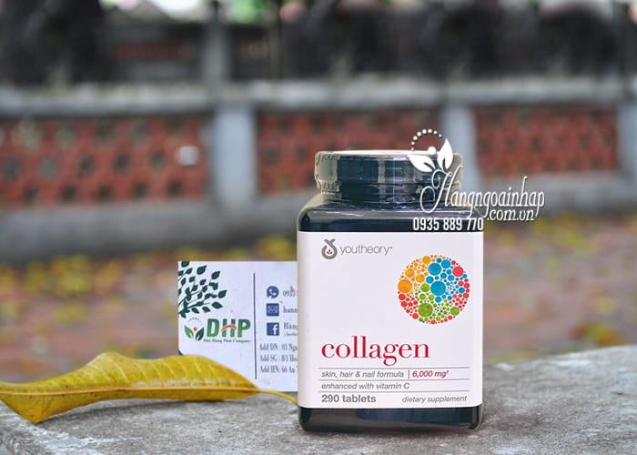 """Collagen youtheory type 1 2 & 3 290 viên """"chính hãng"""" của Mỹ 9"""
