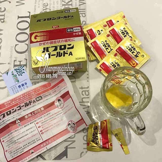 Thuốc cảm cúm của Nhật Pabron 44 gói, trị ho giảm sốt 3