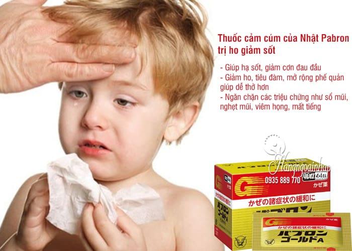 Thuốc cảm cúm của Nhật Pabron 44 gói, trị ho giảm sốt 2