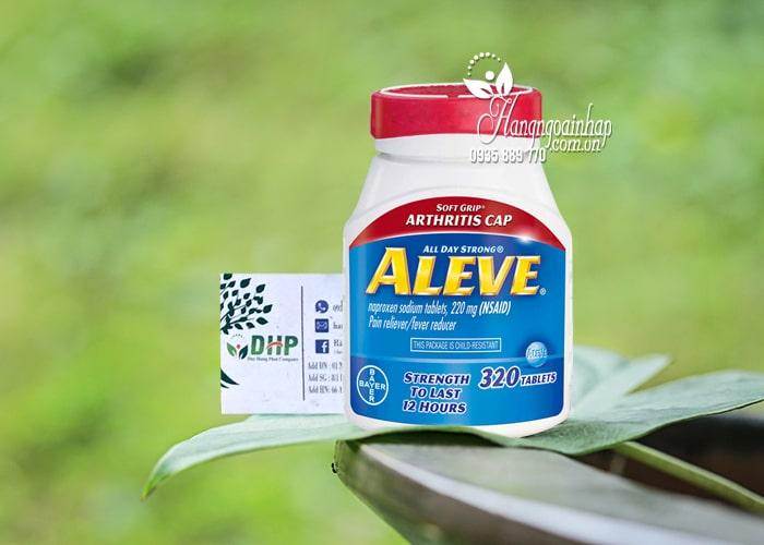 Thuốc giảm đau hạ sốt Aleve Naproxen Sodium 220mg Mỹ 8