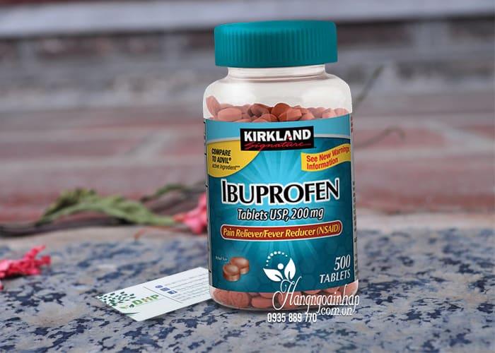 Viên giảm đau hạ sốt Kirkland Ibuprofen 200mg 500 viên Mỹ 5