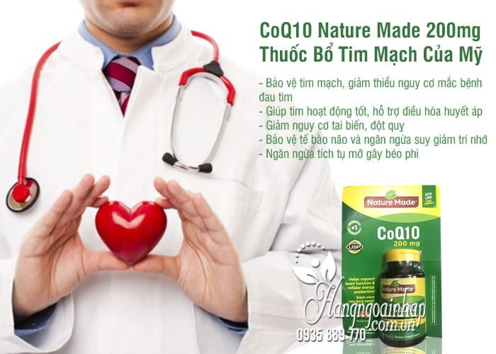 CoQ10 Nature Made 200mg - Thuốc Bổ Tim Mạch Của Mỹ 9