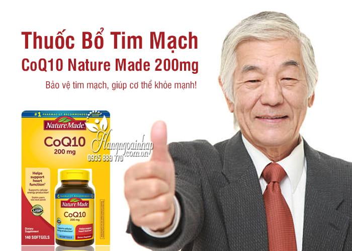 CoQ10 Nature Made 200mg - Thuốc Bổ Tim Mạch Của Mỹ 7