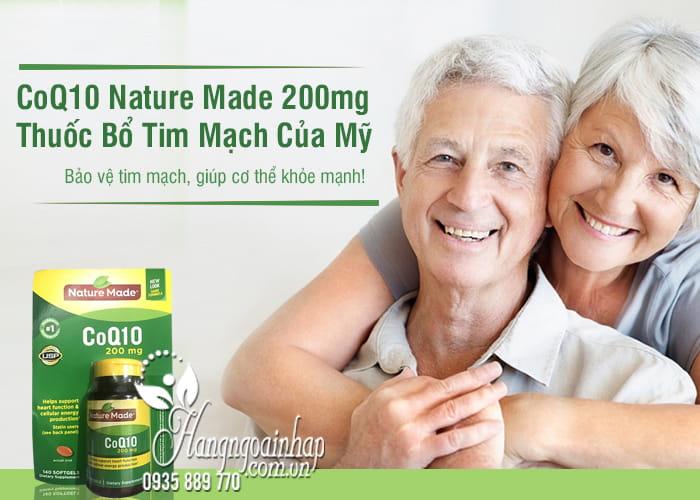 CoQ10 Nature Made 200mg - Thuốc Bổ Tim Mạch Của Mỹ 2