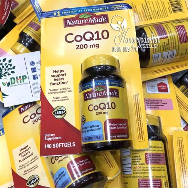 CoQ10 Nature Made 200mg - Thuốc Bổ Tim Mạch Của Mỹ 0