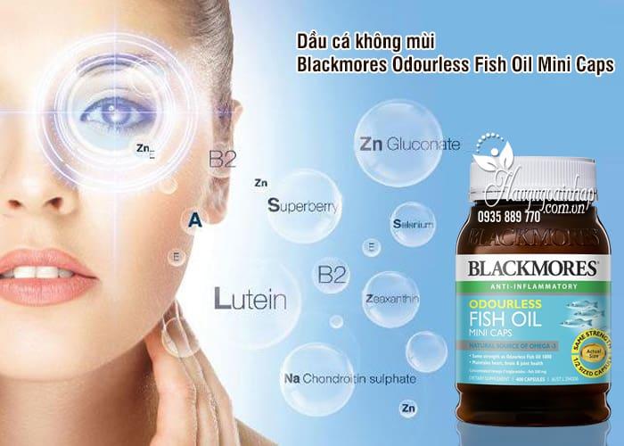 Dầu cá không mùi Blackmores Odourless Fish Oil Mini Caps Úc 45