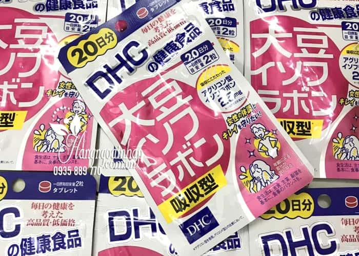 Tinh chất mầm đậu nành DHC Nhật Bản 20 ngày 40 viên cho phụ nữ 4