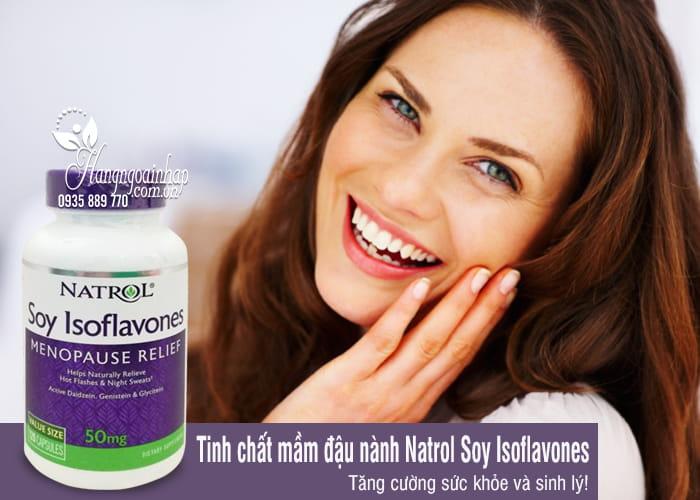 Tinh chất mầm đậu nành Natrol Soy Isoflavones 50mg 120 viên 6