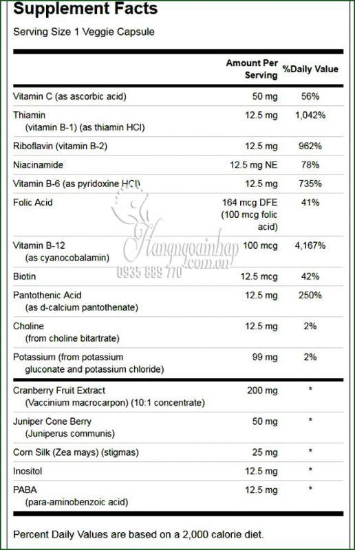 Viên uống bổ thận Swanson Kidney Essential 60 viên của Mỹ 2