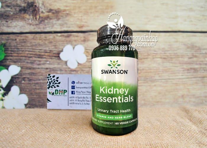 Viên uống bổ thận Swanson Kidney Essential 60 viên của Mỹ 5