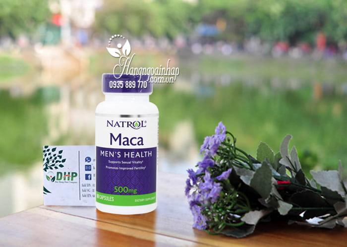 Viên uống Natrol Maca Men's Health 500mg 60 viên Mỹ 9