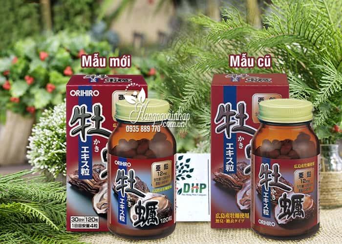 Viên Uống Tinh Chất Hàu Tươi Orihiro 120 Viên Của Nhật Bản 7