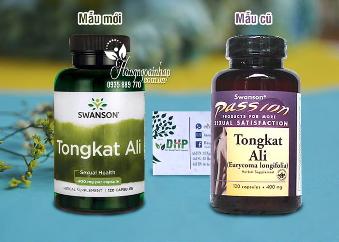 Tongkat Ali Malaysia Swanson Passion 400mg 120 viên của Mỹ 1
