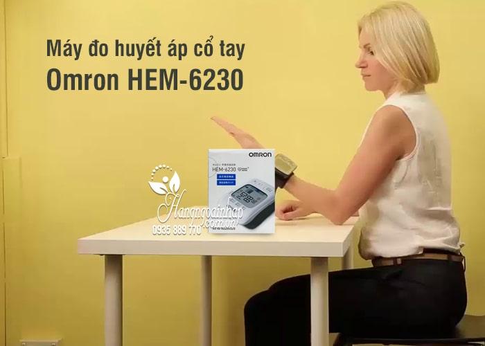 Máy đo huyết áp cổ tay Omron HEM-6230 của Nhật Bản 2