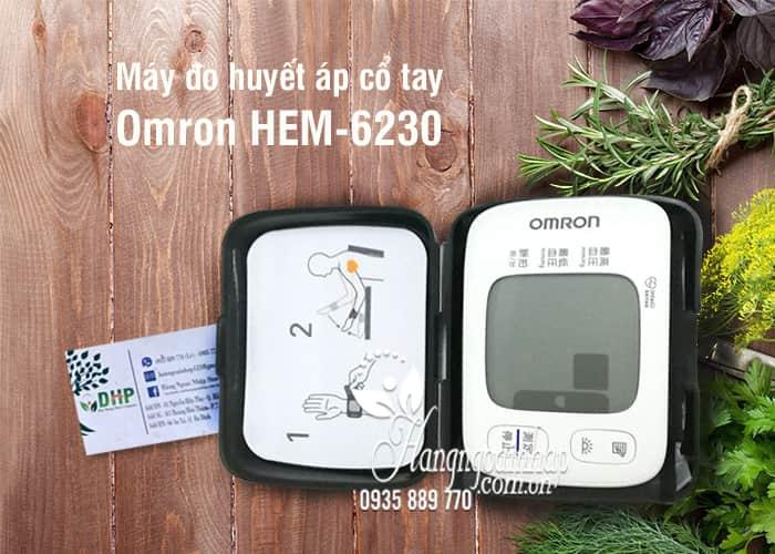 Máy đo huyết áp cổ tay Omron HEM-6230 của Nhật Bản 1
