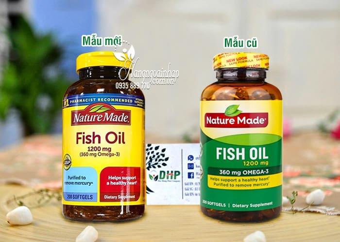 Nature Made Fish Oil 1200mg 360mg Omega 3 200 Viên 8