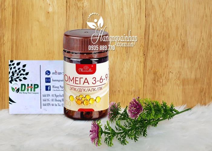 Omega 3 6 9 Mirrolla của Nga 100 viên - Omega 369 Nga 8