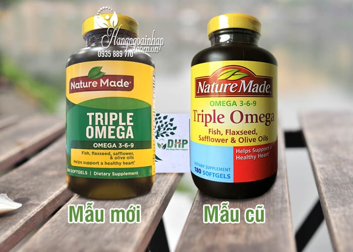 Omega 3 6 9 Nature Made Của Mỹ - Triple Omega Hộp 180 Viên 8