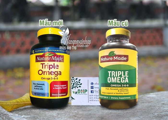 Omega 3 6 9 Nature Made Của Mỹ - Triple Omega Hộp 180 Viên 1