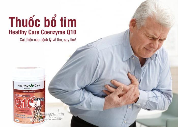 Thuốc bổ tim Healthy Care Coenzyme Q10 150mg Úc 100 viên 5