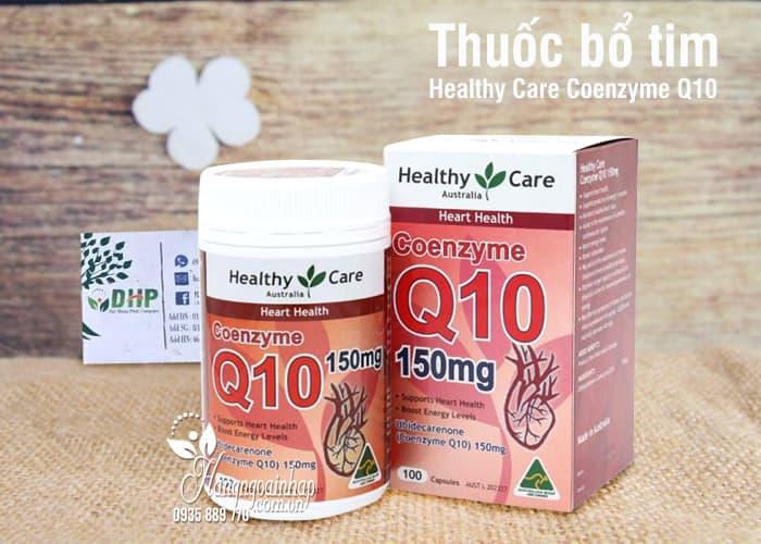 Thuốc bổ tim Healthy Care Coenzyme Q10 150mg Úc 100 viên 1