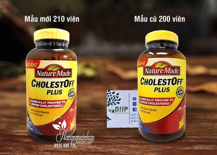Thuốc giảm Cholesterol Nature Made CholestOff Plus 200 viên 2