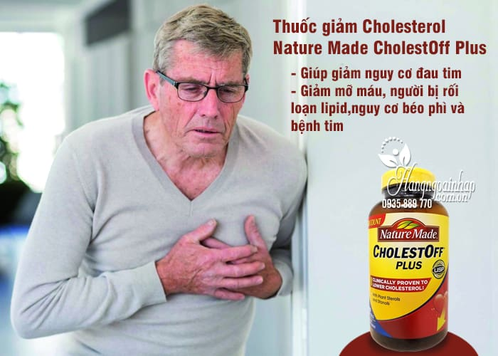 Thuốc giảm Cholesterol Nature Made CholestOff Plus 200 viên 3
