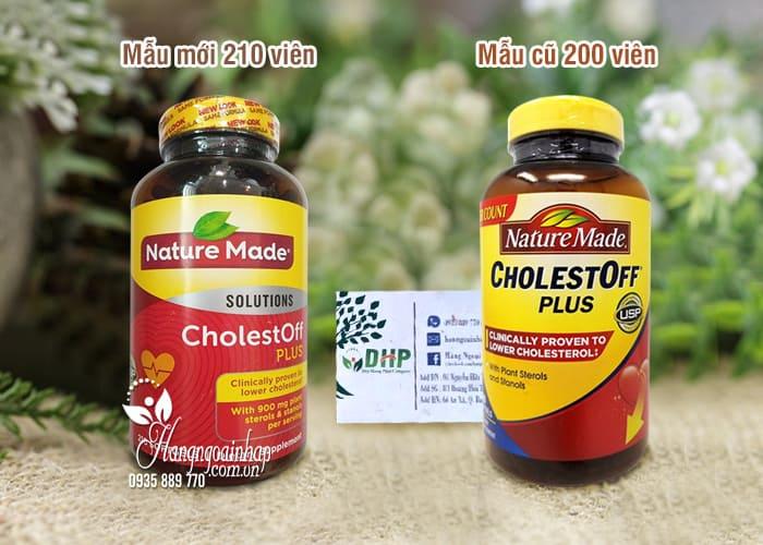 Thuốc giảm Cholesterol Nature Made CholestOff Plus 200 viên 1