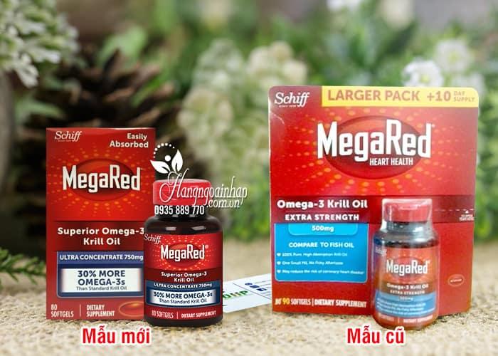 Thuốc hỗ trợ tim mạch Schiff MegaRed Omega-3 Krill Oil 300mg 90 viên 34