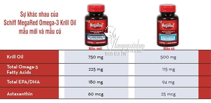 Thuốc hỗ trợ tim mạch Schiff MegaRed Omega-3 Krill Oil 300mg 90 viên 1