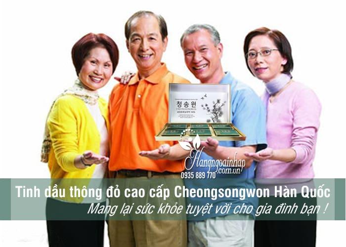 Tinh dầu thông đỏ cao cấp Cheongsongwon Hàn Quốc 180 viên 2