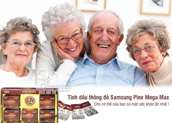 Tinh dầu thông đỏ Samsung Pine Mega Max chính hãng Hàn Quốc 1