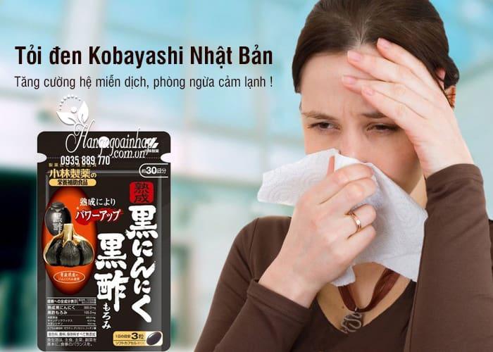 Tỏi đen Kobayashi 30 viên, tỏi đen Nhật Bản chính hãng 1
