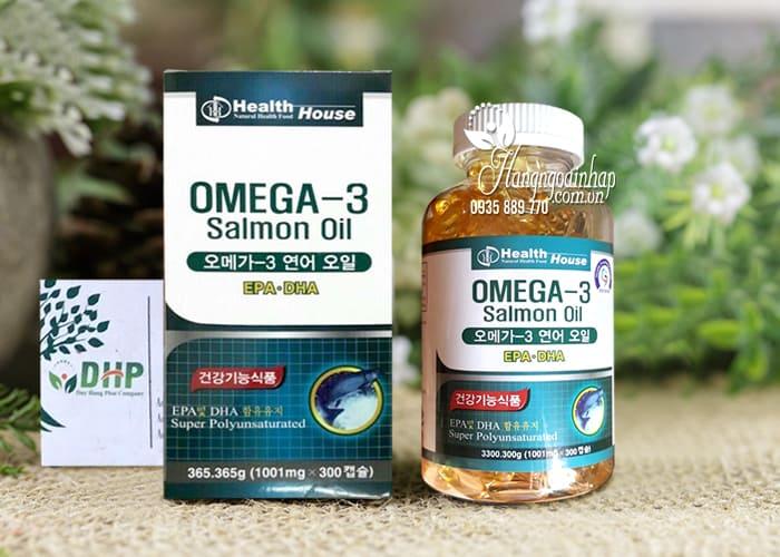 Viên dầu cá hồi Omega-3 Salmon Oil Health House Hàn Quốc 5
