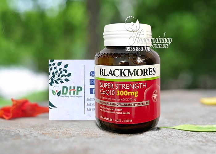 Viên uống bổ tim Blackmores Coq10 300mg Super Strength 30 viên 8
