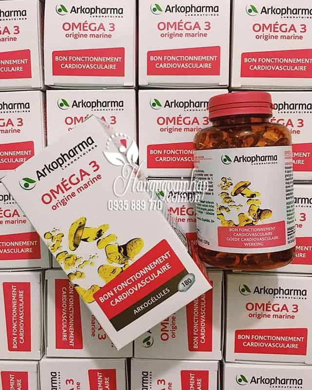 Viên uống dầu cá Omega 3 Arkopharma 180 viên chính hãng Pháp 1