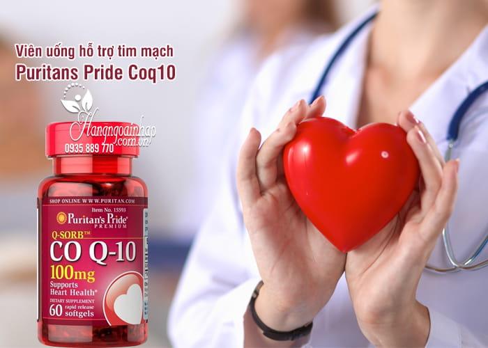 Viên uống hỗ trợ tim mạch Puritans Pride Coq10 100mg 60 viên 1