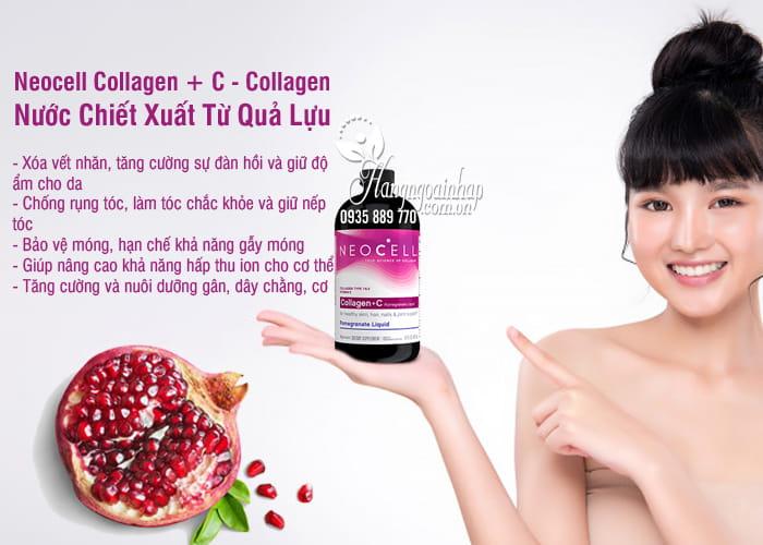 Neocell Collagen + C - Collagen Nước Chiết Xuất Từ Quả Lựu 9