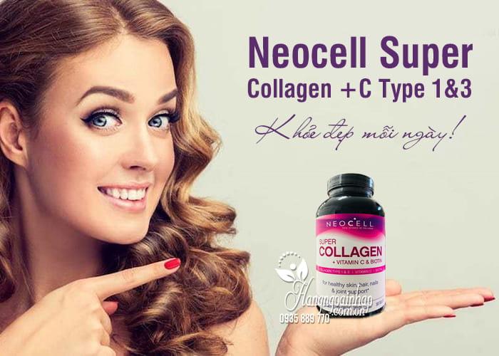 Neocell Super Collagen +C Type 1&3 360 Viên của Mỹ, giá tốt 8