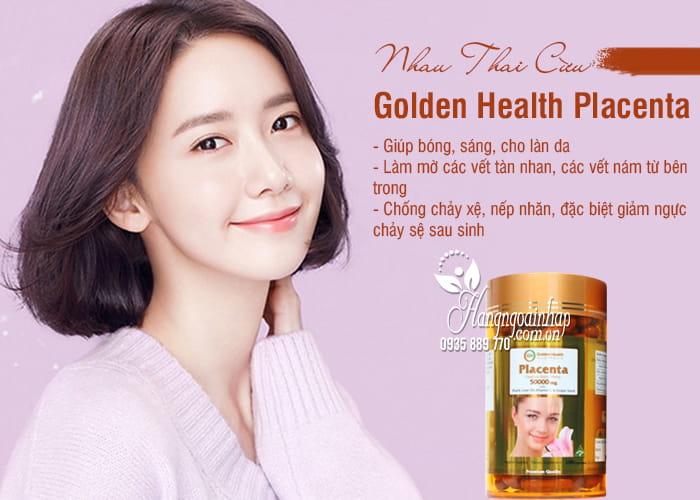 Nhau Thai Cừu Golden Health Placenta 50.000mg Của Úc 7