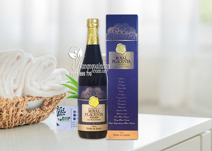 Nước uống đẹp da Royal Placenta 500000mg 720ml của Nhật Bản 2