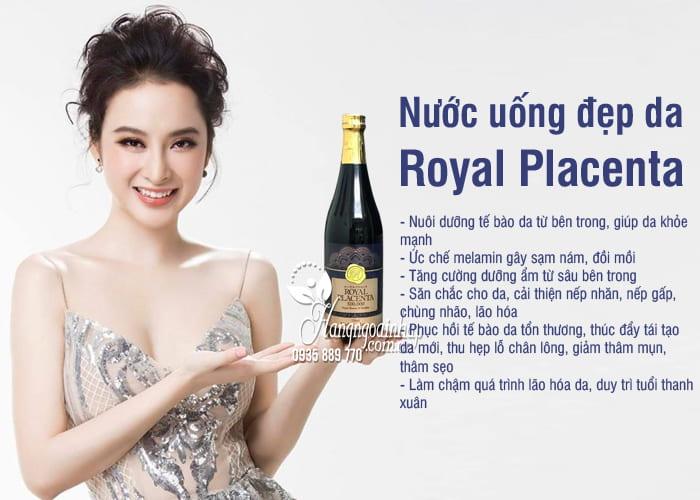 Nước uống đẹp da Royal Placenta 500000mg 720ml của Nhật Bản 8