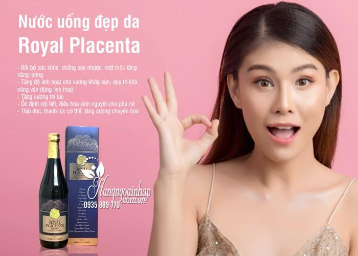 Nước uống đẹp da Royal Placenta 500000mg 720ml của Nhật Bản 1