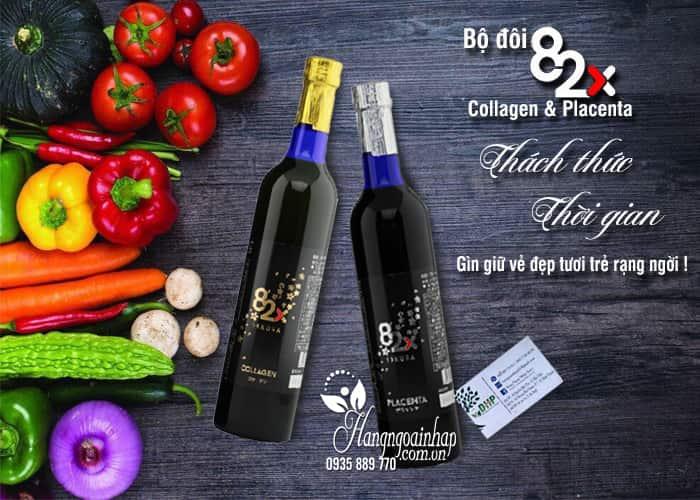 Nước uống Placenta 82x Sakura Premium 450000mg mẫu mới 1