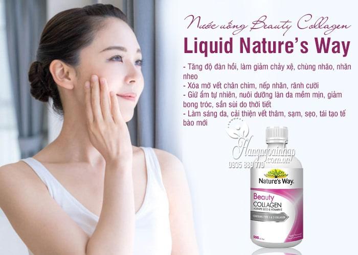Nước uống Beauty Collagen Liquid Nature's Way 500ml Úc 7