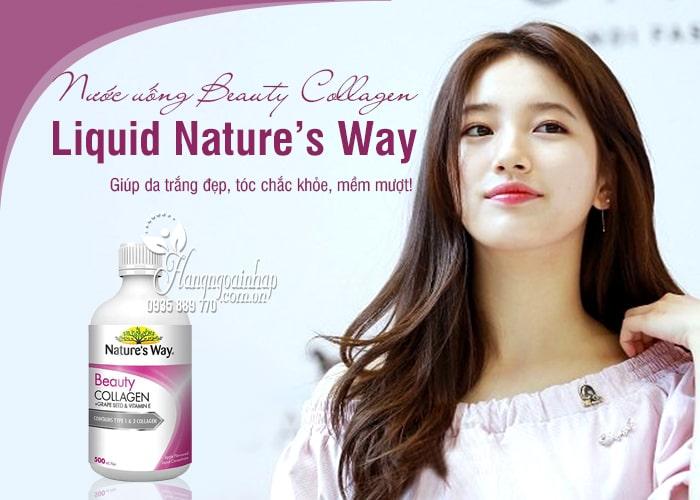 Nước uống Beauty Collagen Liquid Nature's Way 500ml Úc 1