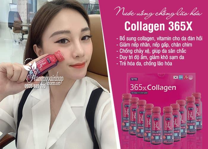 Nước uống Collagen 365X Hàn Quốc chống lão hóa-Hộp 10 chai 8