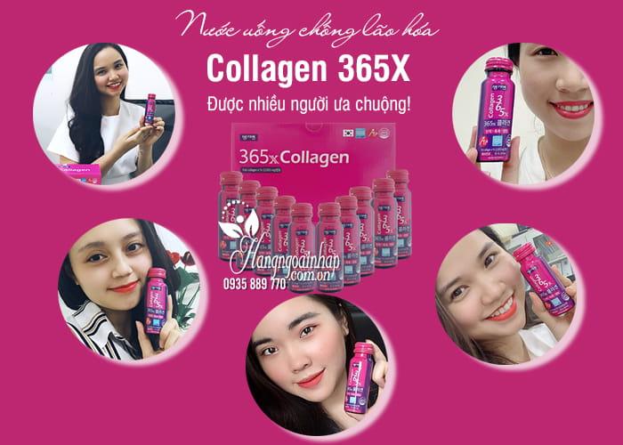 Nước uống Collagen 365X Hàn Quốc chống lão hóa-Hộp 10 chai 1